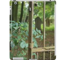 gateway to a graveyard iPad Case/Skin