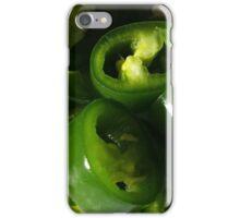 Sliced Green Chilli iPhone Case/Skin