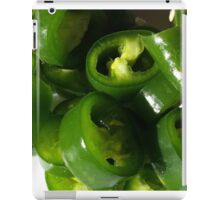 Sliced Green Chilli iPad Case/Skin