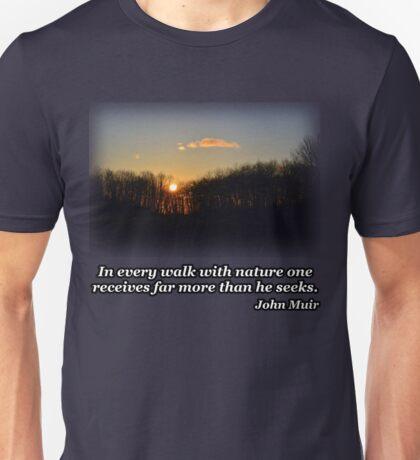 Sunset Trees 2 Unisex T-Shirt