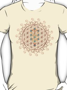 Flower of Life, Tree of Life, Kabbalah, Sephiroth T-Shirt