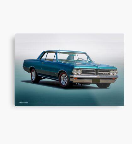 1964 Pontiac 'Red Line' GTO Metal Print