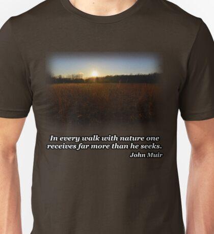 Sunset Field Unisex T-Shirt