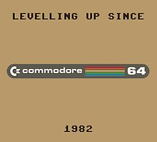 Commodore 64 levelling (brown) by SquareDog