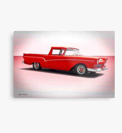 1957 Ford Custom Ranchero Metal Print