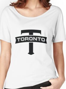 toronto fc fanmade  Women's Relaxed Fit T-Shirt