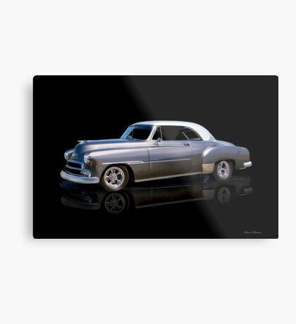 1951 Chevrolet Deluxe Hardtop Metal Print