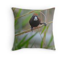 BIRD BRAIN! Throw Pillow