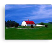 The New Barn Canvas Print