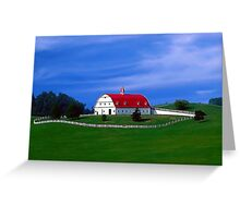 The New Barn Greeting Card