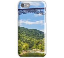 West Virginia's New River Gorge Bridge iPhone Case/Skin
