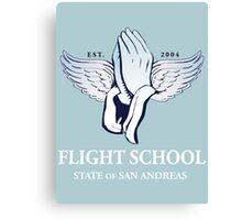 Flight School of San Andreas Canvas Print