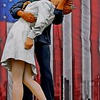 The VJ day Kiss by djphoto
