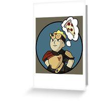 Pizza Destiny Greeting Card