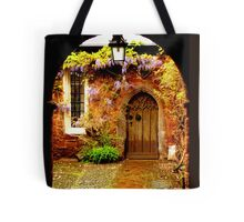 Mysterious Door Tote Bag
