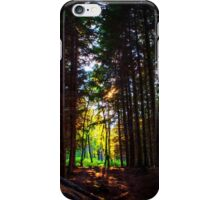 Light in the Forest iPhone Case/Skin