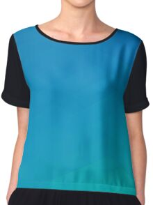 Triangular Geometry Gamma Chiffon Top
