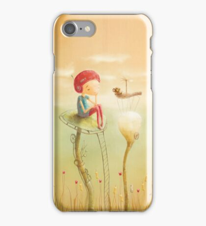 Early morning meeting iPhone Case/Skin