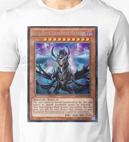 Blue Eyes Darkness Dragon Unisex T-Shirt