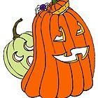 Spider Pumpkin by Kathryn Nicholas