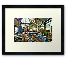 Urban Exploration 1 Framed Print