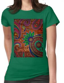 natural art Womens Fitted T-Shirt
