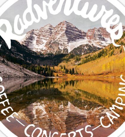 Radventures Sticker