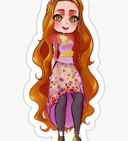 Holly O'Hair Sticker