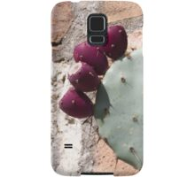 cactus in bloom Samsung Galaxy Case/Skin
