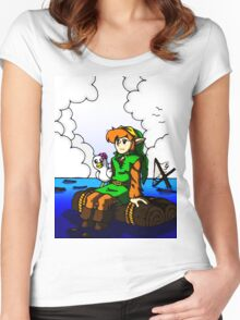 new zelda  Women's Fitted Scoop T-Shirt