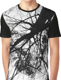 Black and white winter tree photograph Graphic T-Shirt