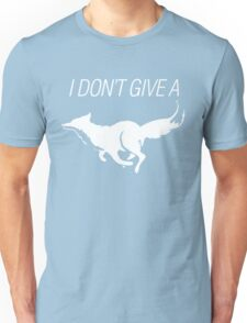 I DONT GIVE A FOX - white - version 3 Unisex T-Shirt