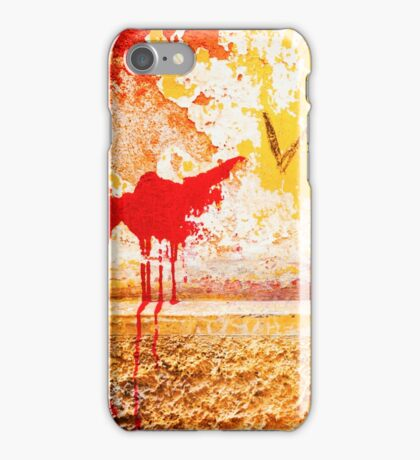 Gutter and decayed wall iPhone Case/Skin