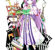 Touhou - Patchouli Knowledge by Whitedark