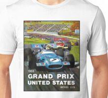 UNITED STATES GRAND PRIX: Watkins Glen Print Unisex T-Shirt