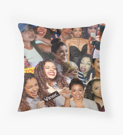 Liza Koshy- Lizzza Throw Pillow