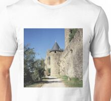 The fortified, old, town of Carcasonne, France Unisex T-Shirt