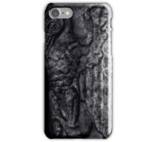 Gargoyle Profile - Left iPhone Case/Skin