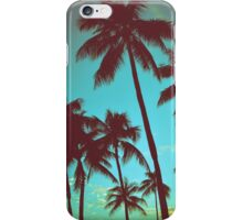 Vintage Tropical Palms iPhone Case/Skin