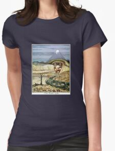 The Lonely Mountain Womens Fitted T-Shirt