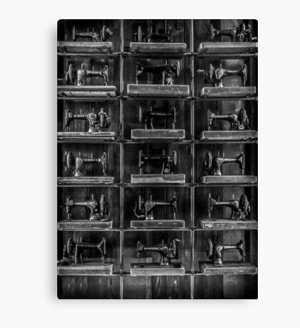 Fashion Industrialism - BW Canvas Print