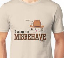 I Aim To Misbehave Unisex T-Shirt