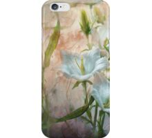 Campanula on the Wild Side iPhone Case/Skin