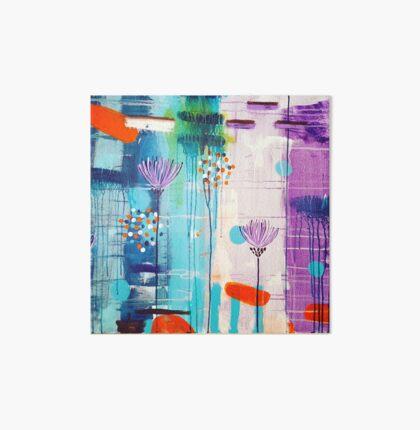 Summer In Bloom Art Board