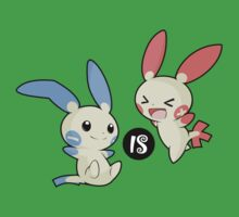 Minus is Plusle (Less is More) V1 Baby Tee