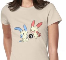 Minus is Plusle (Less is More) V1 Womens Fitted T-Shirt