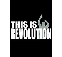 This is Zyzz Revolution Photographic Print