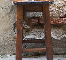 chair in the street by spetenfia