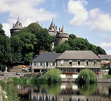 The Chateau of Combourg in Brittany, France. by John Morris