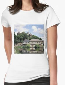 The Chateau of Combourg in Brittany, France. Womens Fitted T-Shirt